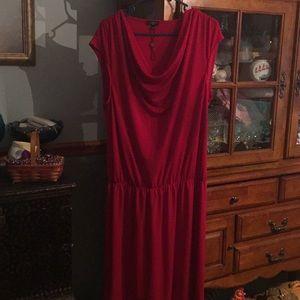 Talbots Red Dress